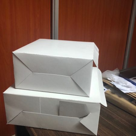 Cake boxes by Swiss Packaging