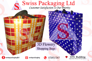 Swiss 3D Flower Bags