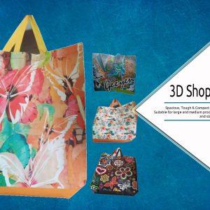 3D shoppig bags